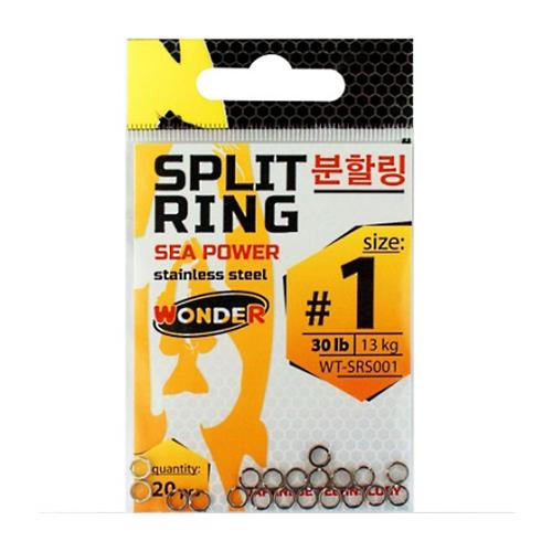 Заводные кольца Wonder Split Ring №1